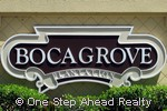 Boca Grove Plantation community sign