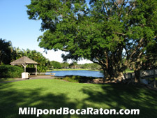 Greenspace such as this is a rare treat in Boca Raton.
